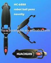 unusual ball pens for promotional,robotic ball pens for Children,novelty pens