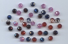 CZ Pave Colourful Round Low Price Beads