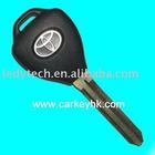 Toyota key blank,electronic transponder key blank,car key