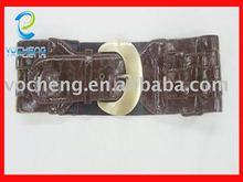 2012 elastic belt. double buckles elastic belt