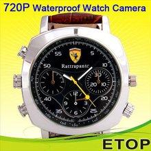 AV Out Waterproof Watch Camera