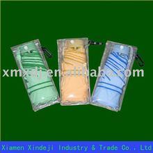 Plastic umbrella Sheath with button closure