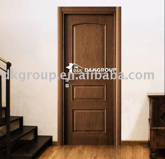 classique porte de la chambre de bois portes id du produit441414019 - Modele Porte Chambre