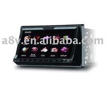 car audio gps dvd (GPS,Bluetooth,TV,3D menu)