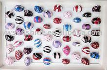Fashion jewellery epoxy & enamel ring
