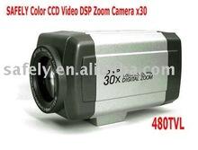 High quality high focus IR CUT DSP 480 TVL 30x opitical super Zoom Camera