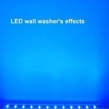 2011 hot pro waterproof rgb led wall washer