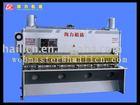 Hydraulic cnc guillotine plate cutter machine