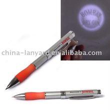 led logo projector pen