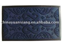 rubber shaggy mat
