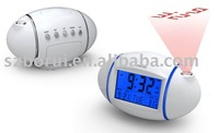 BR-815 Projection clock Egg Shaped