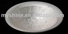 Myshine Elegance chinese craft sterling silver bowls