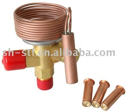 Exchangable orifice valve thermal expansion valve for R22 R134A R407A