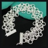 2.011 pulseras de moda jewelry.silver