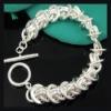 2011 hotsale jewelry.silver pulseras