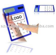 LOGO gift solar transparent calculator
