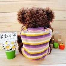 APA013 Hot sale popular solid color plain 100% cotton dogs t-shirt;pet clothes 2011