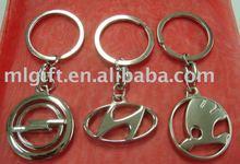 2012 metal Loop Keyrings/ car logo key ring