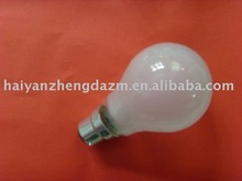 HOT SALE 75W 100W FROSTED 75W/ E27/B22 incandescent bulb/lamp/lighting WITH CE CERTIFICATION