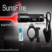 Adjustable focus 5MW red dot tactical laser scope