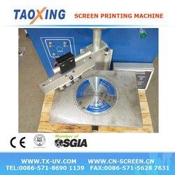 saw blade screen printing machine