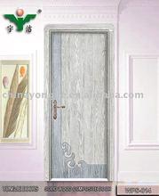 classical solid wood composite door WPS-014(YIWU office)