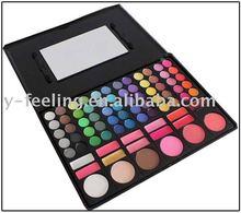 78 Color Eye Shadow Lip Gloss Blush Palette Set