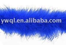 blue Marabou feather boa