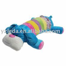 lovely dressed plush dog stuffed toy