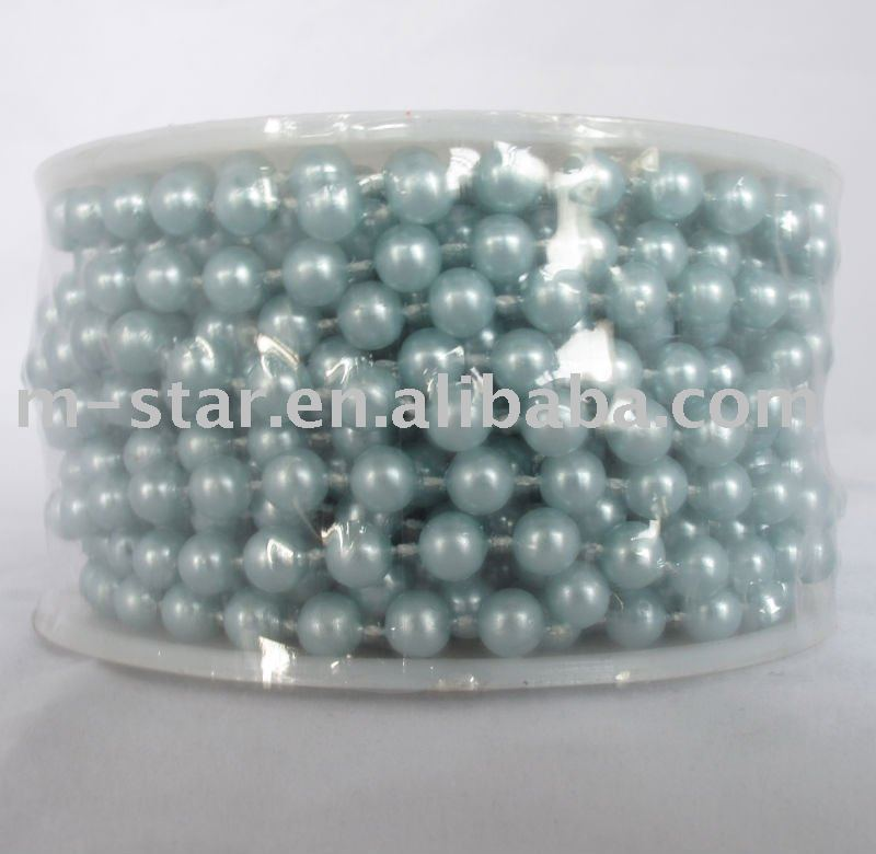 24Yard 6mm Pearl Garland Wedding Decoration