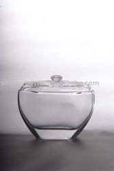 100ml modern design glass spray perfume bottle