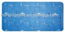 PVC anti slip bath mat