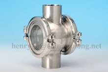 Stainless Steel Sanitary Tank Sight Glass