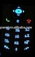 mobile keyboard EL backlight