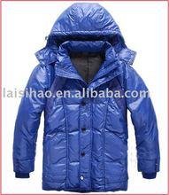 2011 Latest mens formal down filled winter dress coat