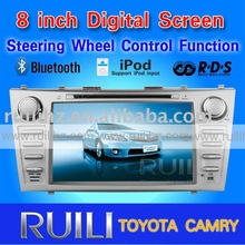 2011 hot sell TOYOTA CAMRY car audio 3D Animation UI