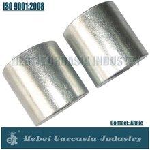 BS thread EN 10241 electric galvanized Carton steel Merchant Coupling
