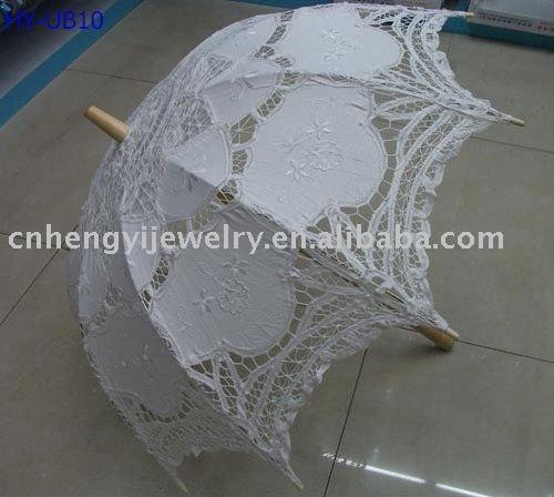 white lace parasollace umbrellaswedding parasol