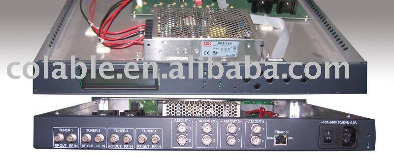 Dish TV Headend Transmitter/Encoder/Multiplexer/Scrambler/Modulator/IRD