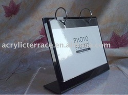 Black Acrylic Calendar Holder