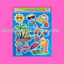 Window Cling / Sticker - Summer Party, Hawaii