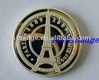Eiffel europe souvenir silver coin
