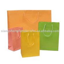 Colorfull shopping Paper bag