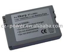 Digital Camera Battery pack/Camcorder Battery for Sharp BT-L266U/BL27