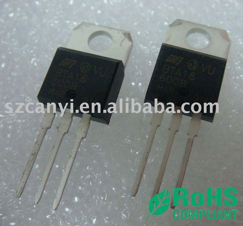 Dip bta16-600b del transistor