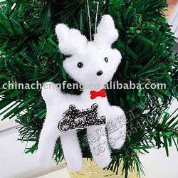 yiwu china white 20cm foam dog