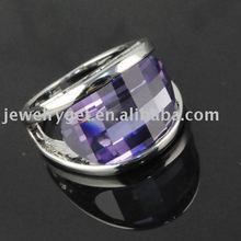free shipping, 2011 fashion purple alloy rings ,silver effect ,qualiy rings ,RN-569