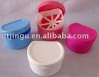plastic denture box