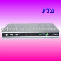 FTA digital satellite receiver wiztech 555