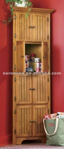Buy Pine Wood 8-door Corner Cabinet